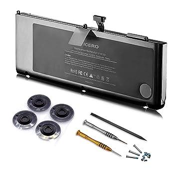 2009//2010 Version MB985 MB986 MC371 MC372 MC373-2 Jahre Gew/ährleistung A1321 ICERO 7200mAh Ultra Hochleistung Neuer Akku f/ür Apple MacBook Pro 15 A1321 A1286