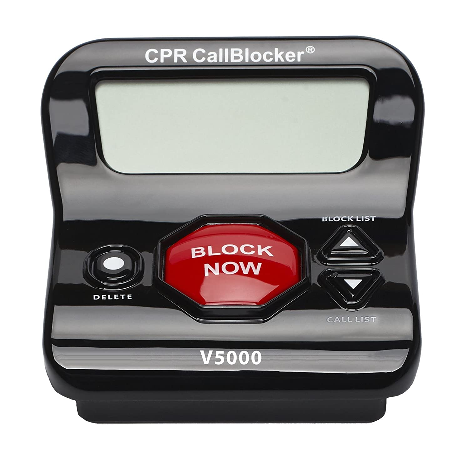 Amazon: Cpr V5000 Call Blocker  Block All Robocalls, Political Calls,  Scam Calls, Unwanted Calls Block All Nuisance Calls At The Touch Of A  Button: