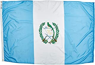 product image for Annin Flagmakers Model 193159 Guatemala Flag Nylon SolarGuard NYL-Glo, 2x3 ft, 100% Made in USA to Official United Nations Design Specifications