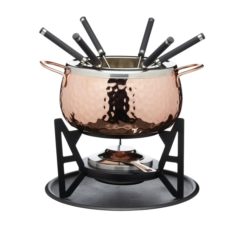 Fondue Set - Copper Finish - Gift Boxed Artesà