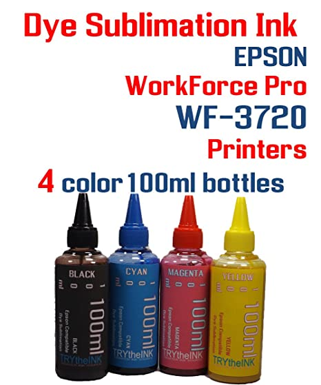Amazon com: Dye Sublimation Ink - WorkForce Pro WF-3720