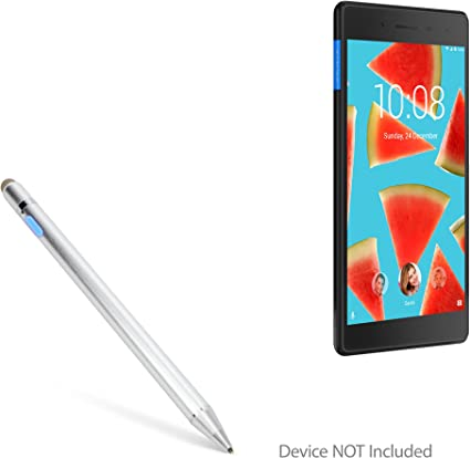 2nd/Gen Broonel Grey Fine Point Digital Active Stylus Pen Compatible with The Lenovo Tab M7