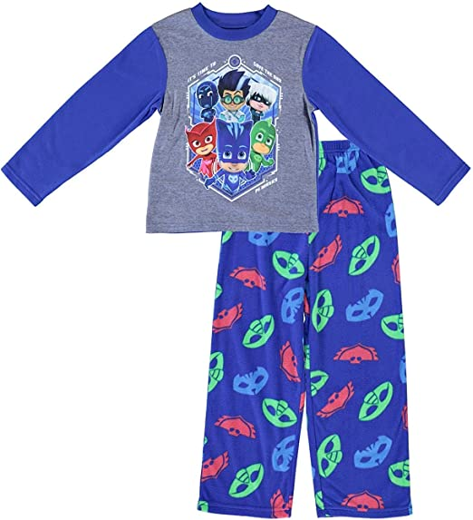 P J Masks Pajamas 4T 5T Toddler Sleepwear Boys 2 Piece Set New