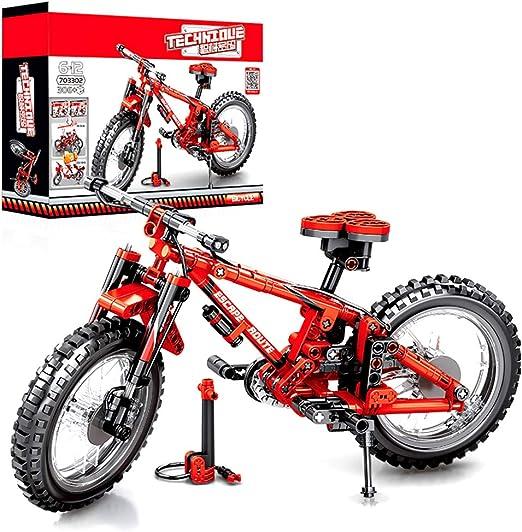 Deeabo 306 Piezas De Bloques De Construcción De Bicicletas De ...