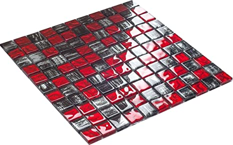 Lusso vetro mosaico rosso tiger piastrelle bagno cucina prodotto di