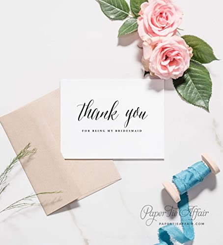 Thank You For Being My Bridesmaid Flower Girl Maid of Honour Card /&Bracelet Gift