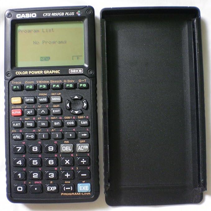Casio - CFX-9850GB Plus Interno unidad de disco óptico: Amazon.es: Instrumentos musicales