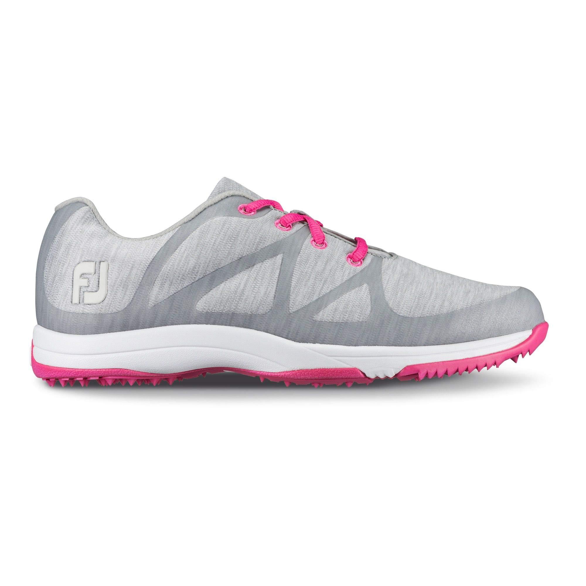 FootJoy Women's Leisure-Previous Season Style Golf Shoes Grey 5 M, Light US