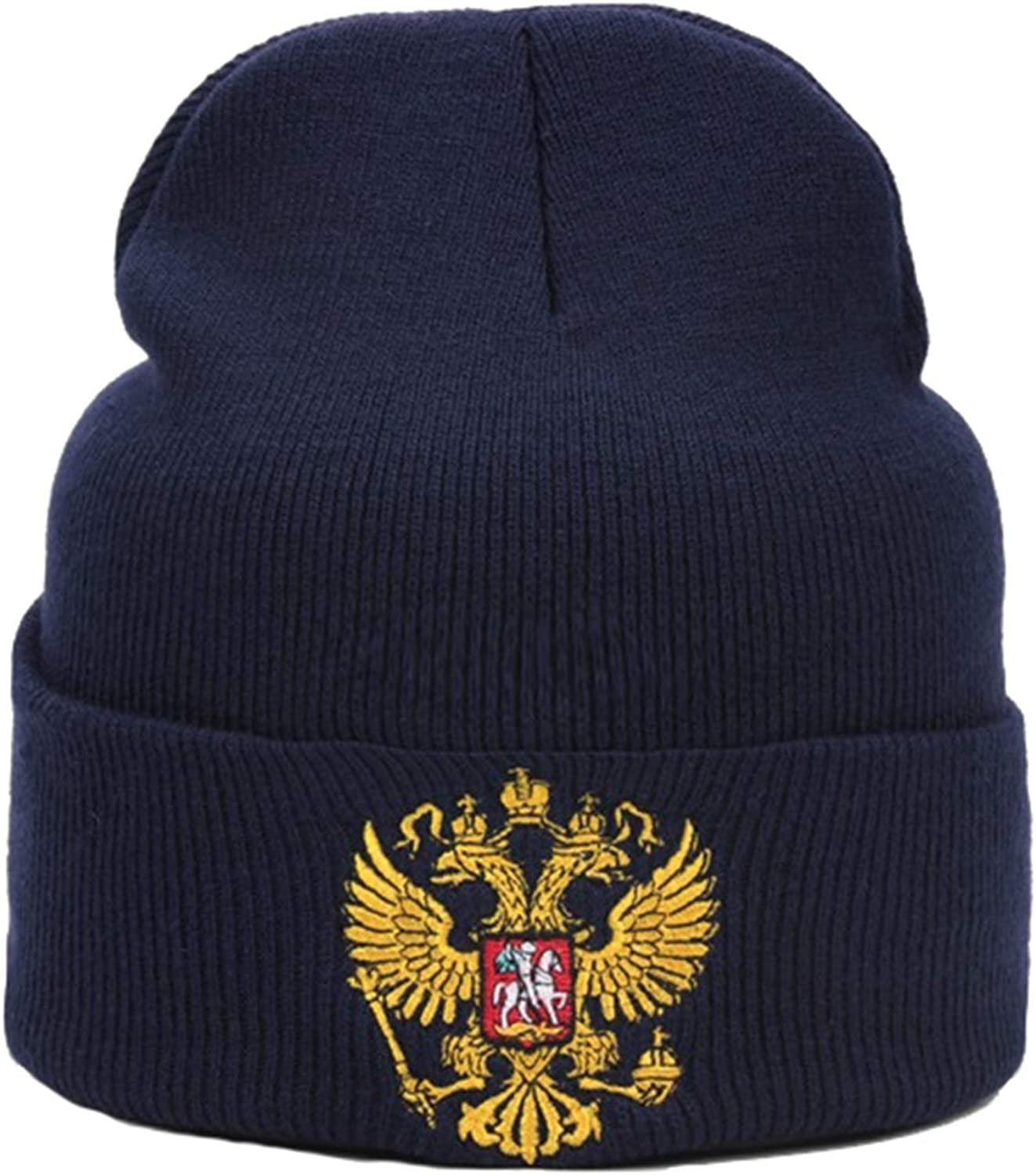 Russia Men Women Warm Knitted Hat Fashion Very Cold Casual Beanies for Unisex Winter Caps