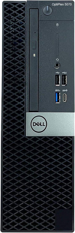 Dell OptiPlex 5070 SFF Small Form Factor Desktop - 9th Gen Intel Core i5-9500 6-Core CPU up to 4.40GHz, 16GB DDR4 Memory, 512GB SSD, Intel UHD Graphics 630, DVD Burner, Windows 10 Pro