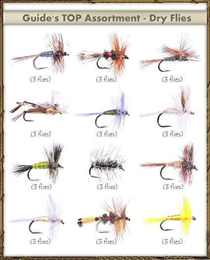 Renegade  #18 dry  Flies 2