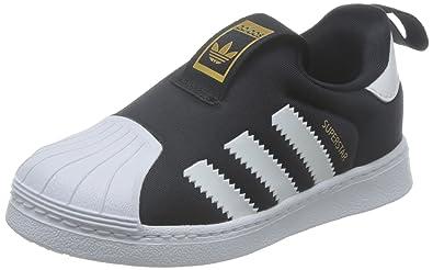 Adidas Superstar 360 I S82711, Baskets Mode Enfant, Black White, 19