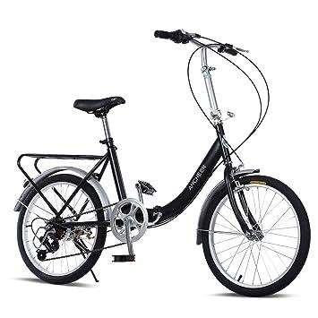 Ancheer 7 velocidad bicicleta plegable 20 Loop plegable para bicicleta