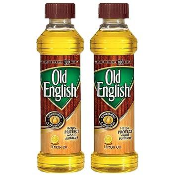 Old English Wood Polish Bottle 16 Oz Pack Of 2