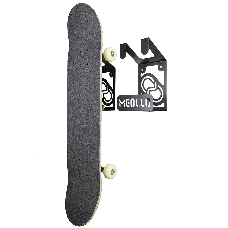 MEOLLO Soporte Colgador para Skateboard 100/% Acero Fabricado en Espa/ña