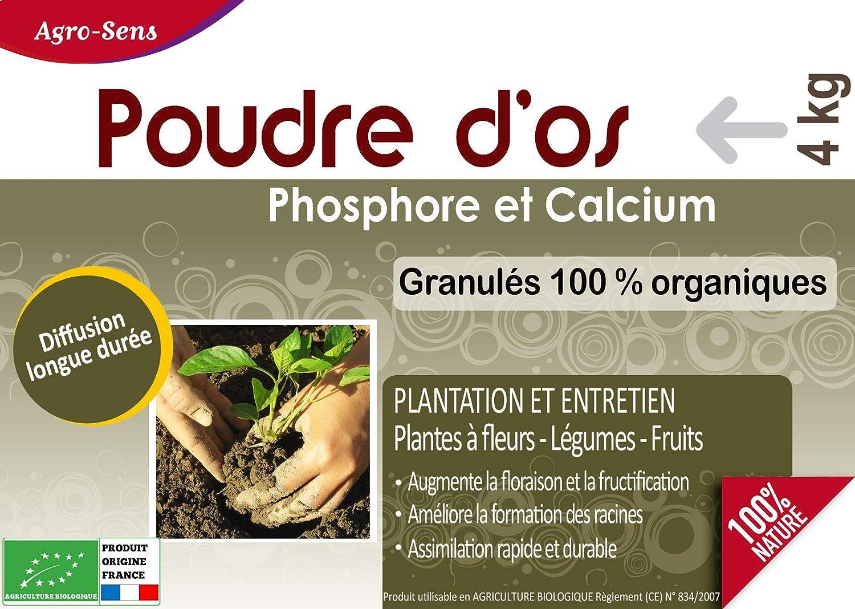 Agro Sens - Abono polvo de hueso Natural para el jardín ...