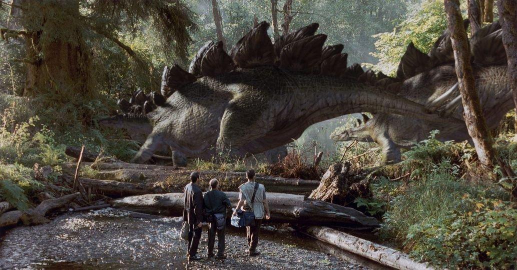 Wayne Dove Jurassic Park Póster en Seda/Estampados de Seda ...