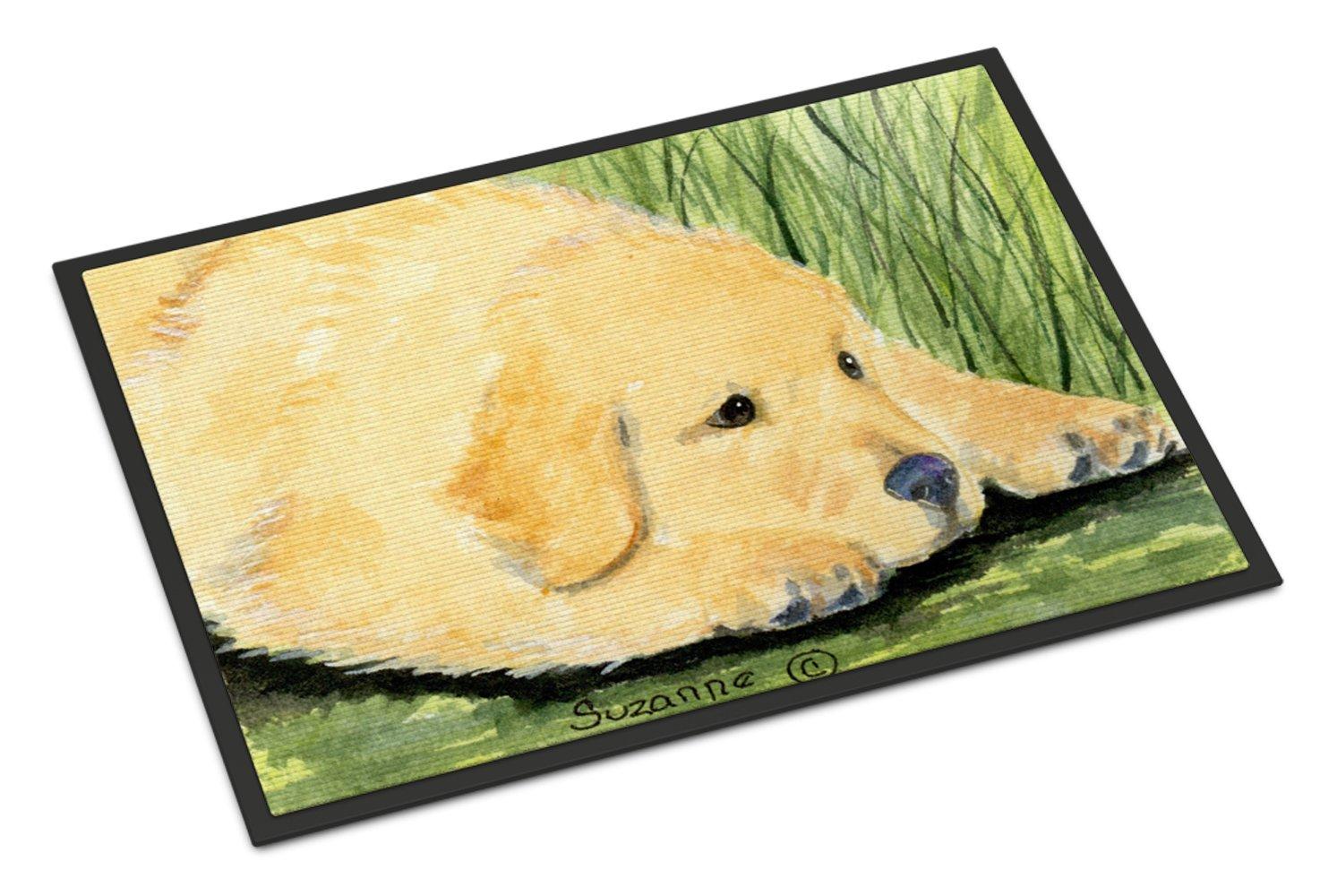 Carolines Treasures SS8864JMAT Golden Retriever Indoor or Outdoor Mat 24x36 Doormat Multicolor 24H X 36W