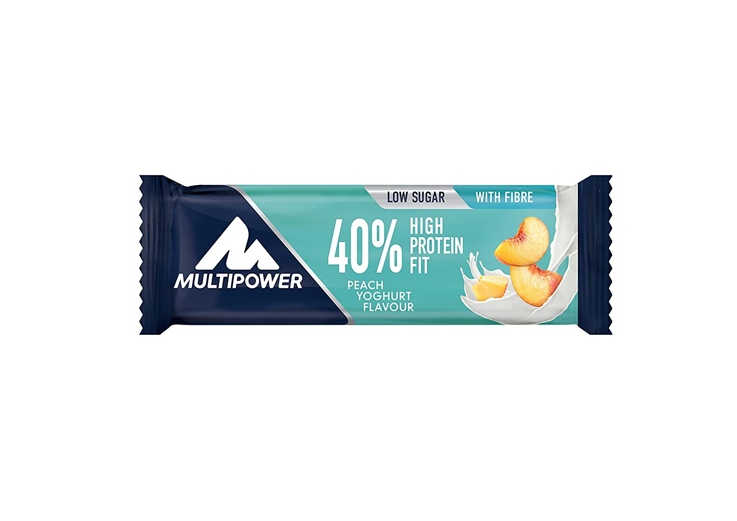 40% Protein Fit Bar (barritas proteicas) - 24 x 35 gr. - Chocolate avellana: Amazon.es: Salud y cuidado personal