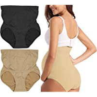 ToBeInStyle Women's High Waist Over The Bump Maternity Underwear