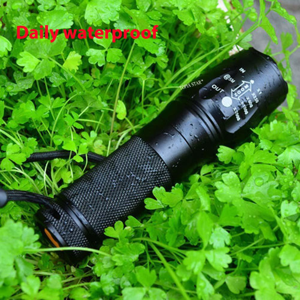 TOPIA STAR Powerful Flashlight, Professional Outdoor Warerproof Rechargeable Led Flashlight by TOPIA STAR (Image #2)