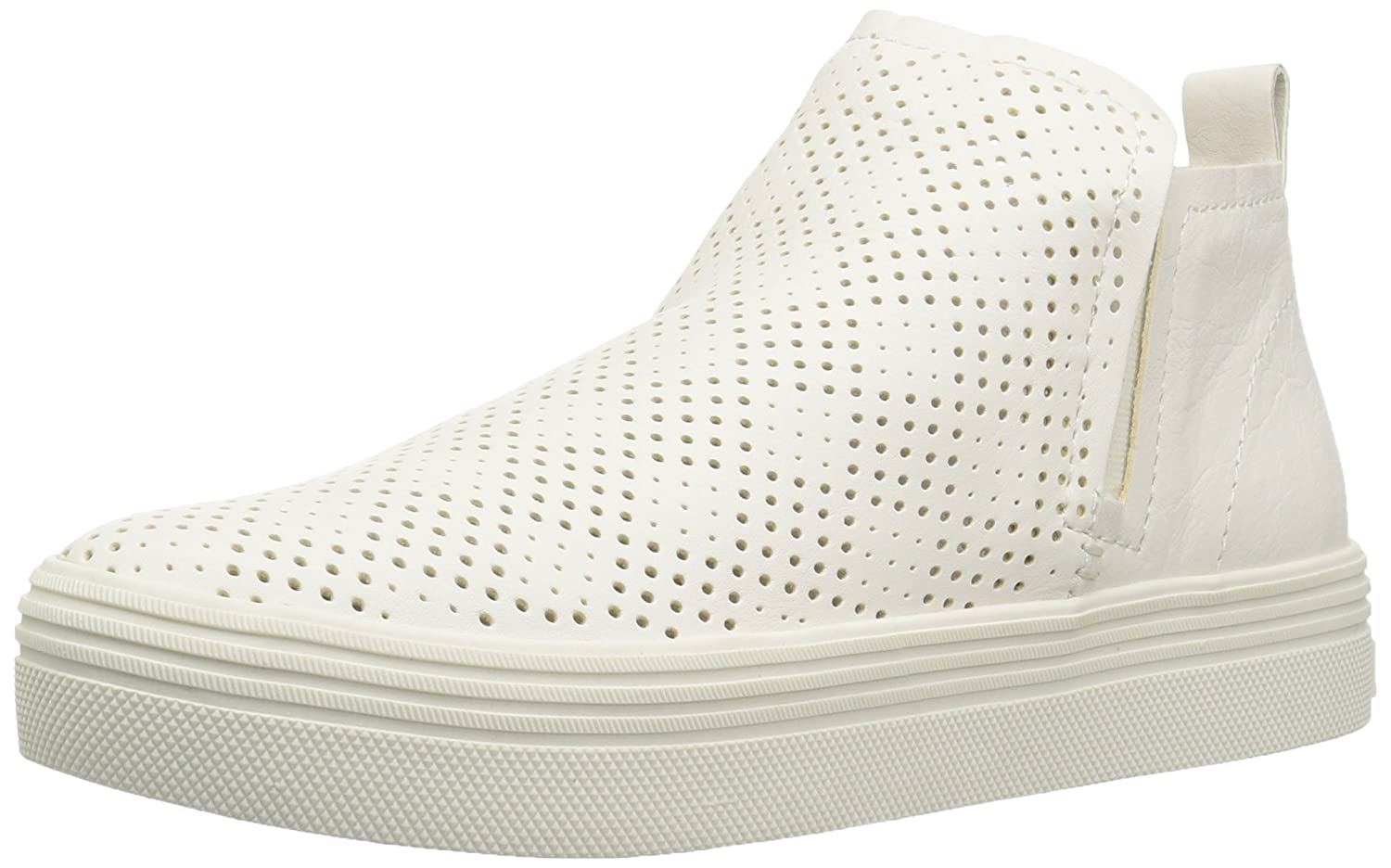 Dolce Vita Women's Tate Perf Sneaker B07CNF7TZ8 7 M US|Off White Leather