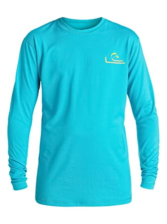 Quiksilver New Wave - Long Sleeve Rash Vest - Camiseta de Surf - Niño - Azul