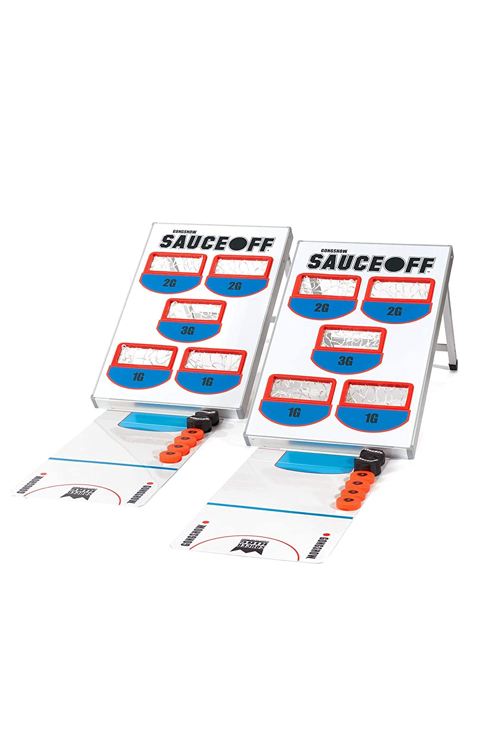 GONGSHOW SauceOFF Backyard Hockey Game and Training Set