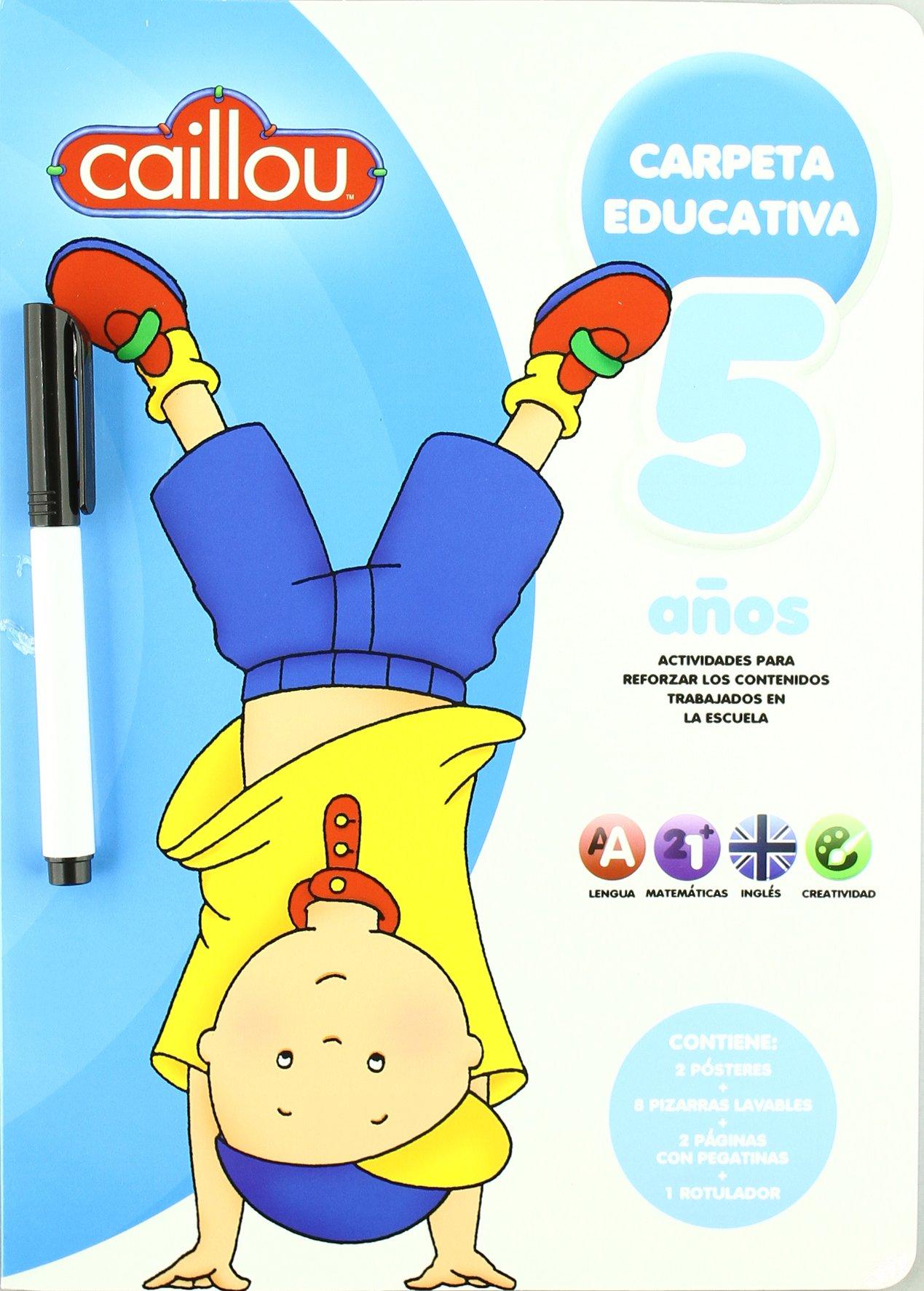 VACACIONES CAILLOU 5 A¥OS: MEDIALIVE: 9788415239314: Amazon ...