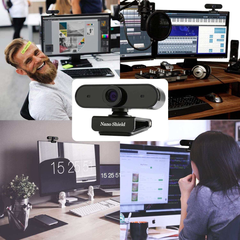 N910 Skype Web Camera Wide Angle with Mic USB Plug and Play Web ...
