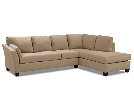 Amazon Klaussner Drew Sectional Taupe Kitchen & Dining