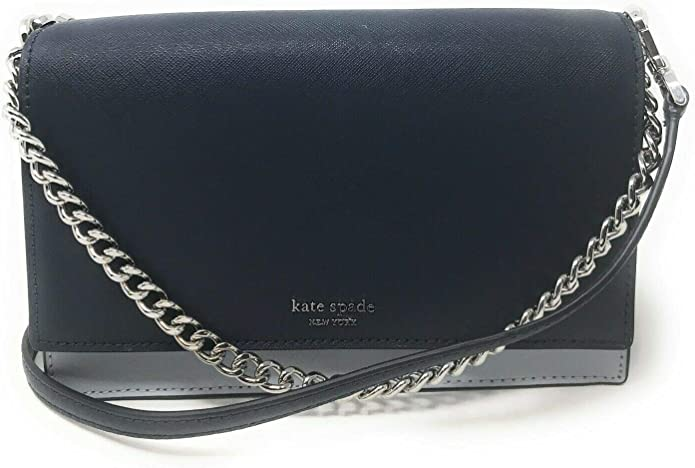 Amazon Com Kate Spade New York Cameron Street Chain 3 In 1 Clutch Shoulder Bag Crossbody Bag 2 Toned Blue Shoes