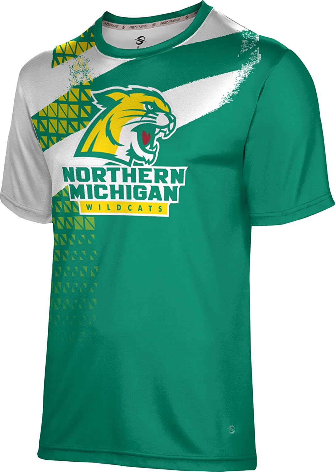 ProSphere Northern Michigan University Mens Performance T-Shirt Structure