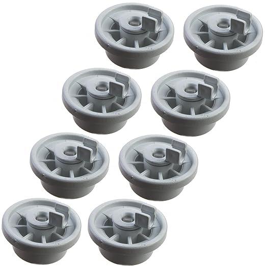 8 cesta ruedas ruedas para diversos modelos de lavavajillas de ...