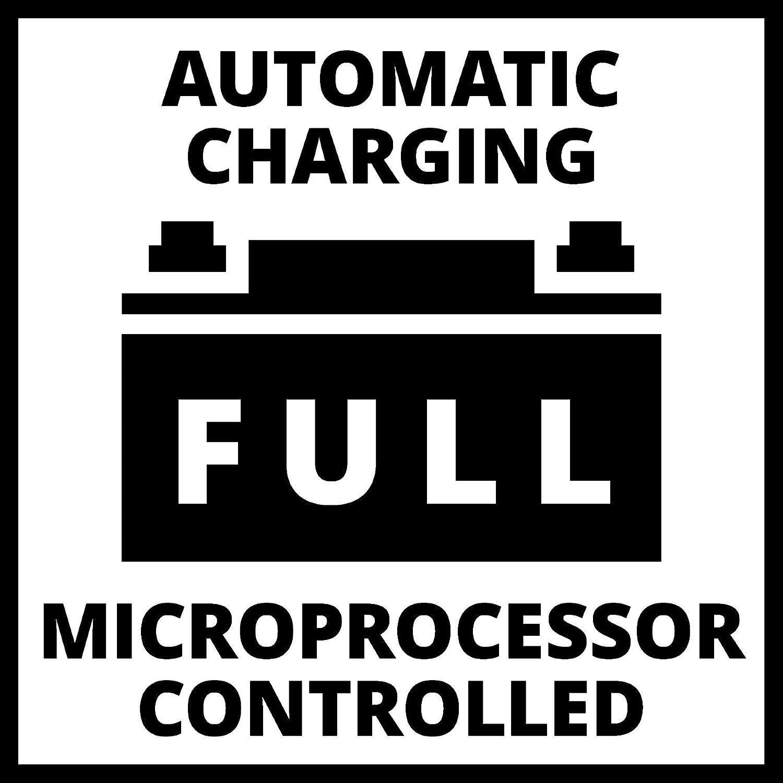 Einhell 1002205 CE-BC Chargeur de batterie 1 M Rouge