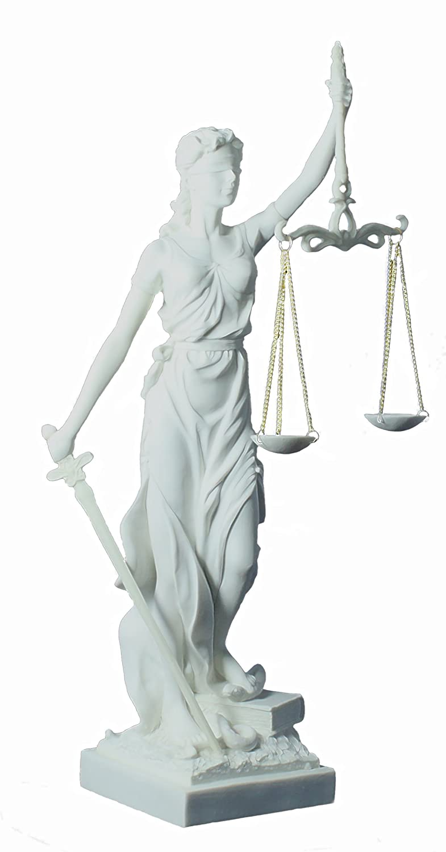 Diosa justicia balanza espada regalo abogado