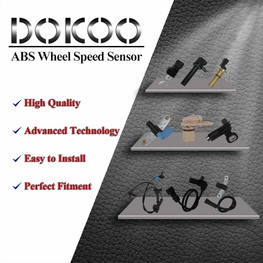 Front ABS Wheel Speed Sensor 34526756375 For BMW E39 520i 525i 528i 530i 540i M5