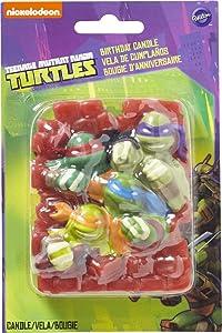 Wilton 2811-7745 Teenage Mutant Ninja Turtles Birthday Candle