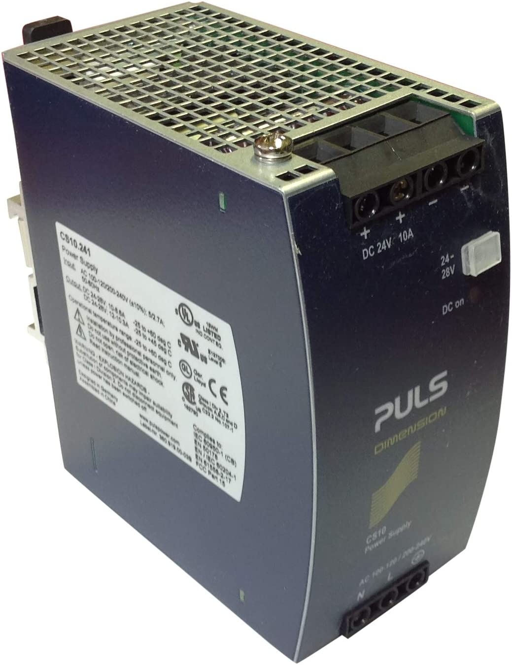 CS10.241 PULS 10A Power Supply