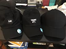 Ordered 3 caps & I love the baseball cap that's on the far right