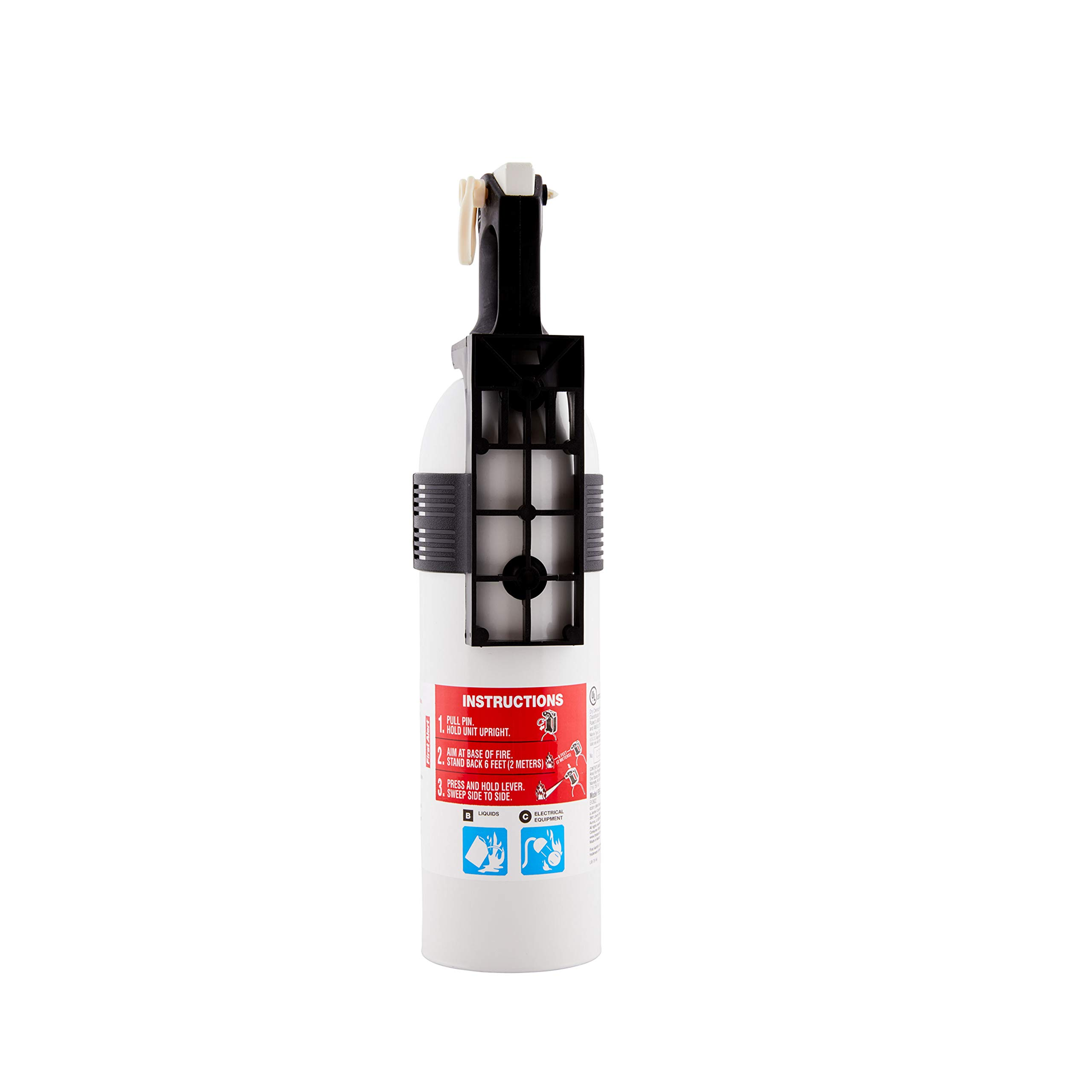BRK Brands, Inc FE5R-PWCNA Fire Extinguisher 5-B:C White