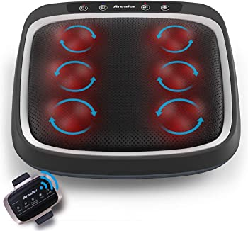 Arealer Foot Massager Built-in Infrared Light with Remote Control