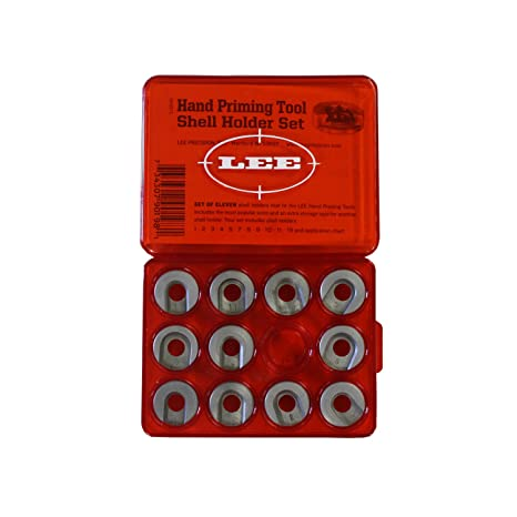 Reloading Equipment Sporting Goods Lee Precision Hand Priming Tool Shell Holder Set of 11 Shellholders *90198*