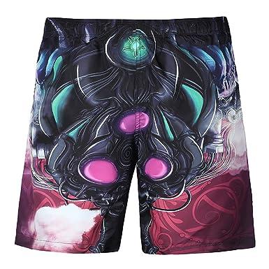5f5c83e026 Amazon.com: Ennglun Mens Swim Trunks, Men's Swimwear Plus Size 3D Printed  Beach Shorts Beachwear Quick Dry: Clothing