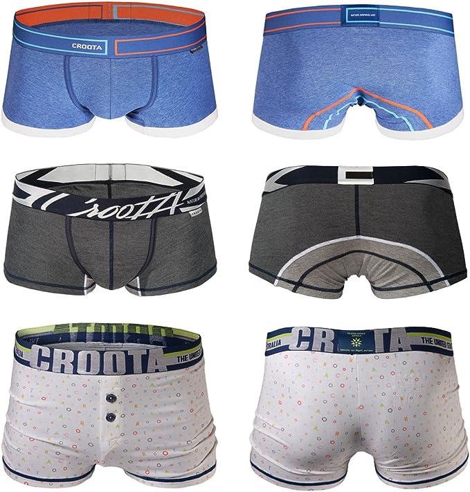 Premium Supima XL CROOTA Mens Underwear Boxer Briefs L All sizes S M