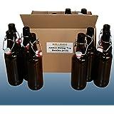 Home Brew - Balliihoo® Amber Swing Top 500ml Bottles x Pack Of 12