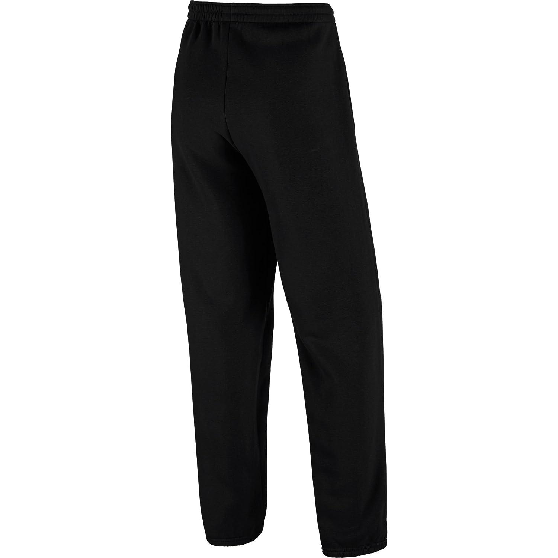 Jordania gráfico forro polar pantalón de chándal para hombre negro ...