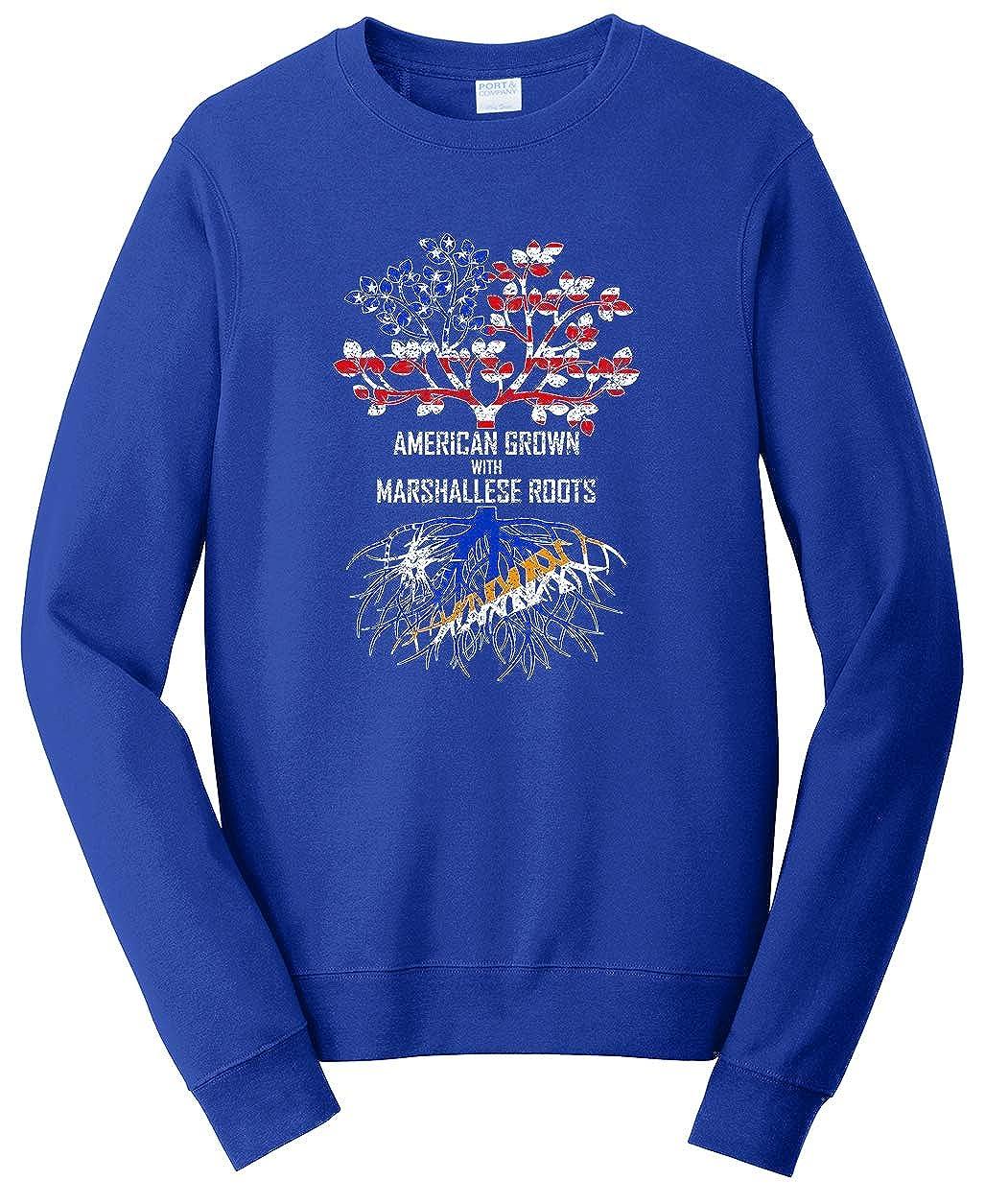 Tenacitee Unisex American Grown with Marshallese Roots Sweatshirt