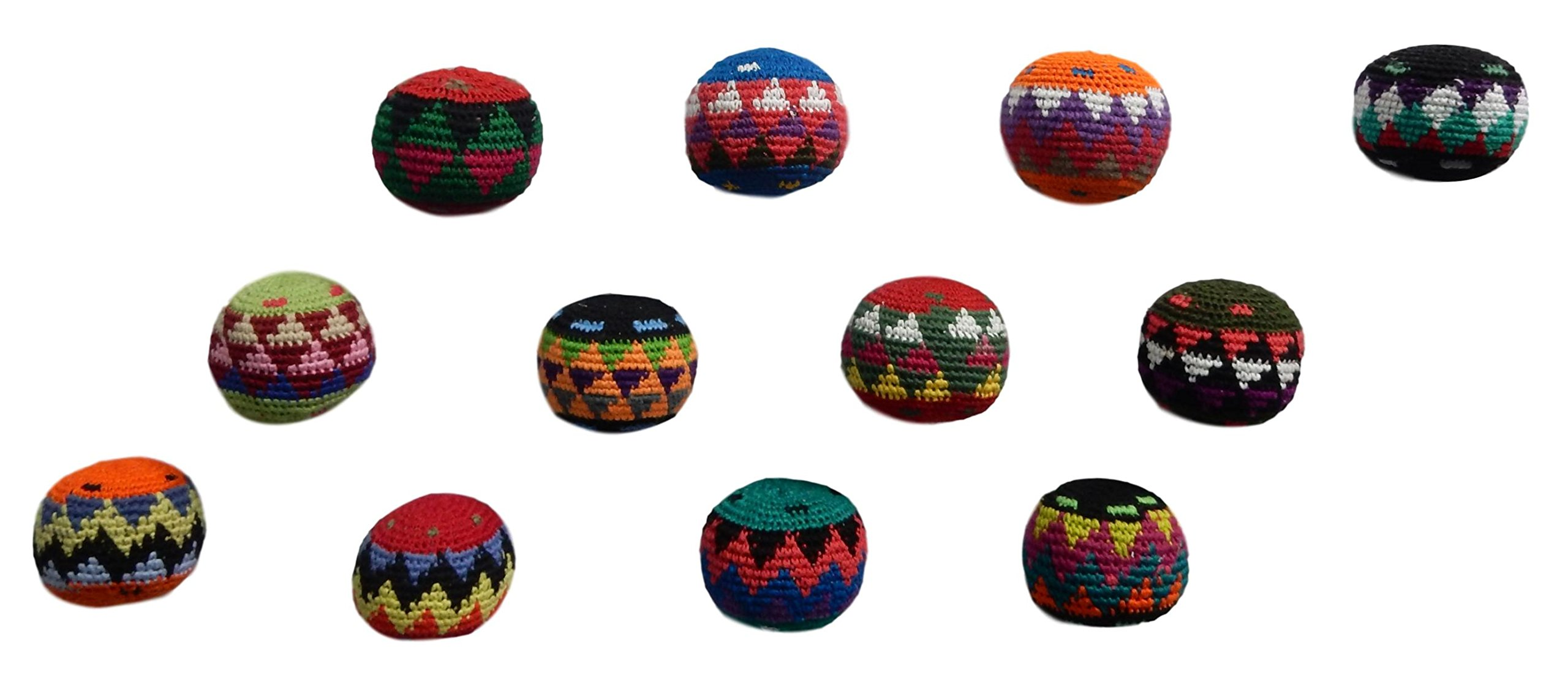 Toys IER Hacky Sack Assorted Colors (12 pack)