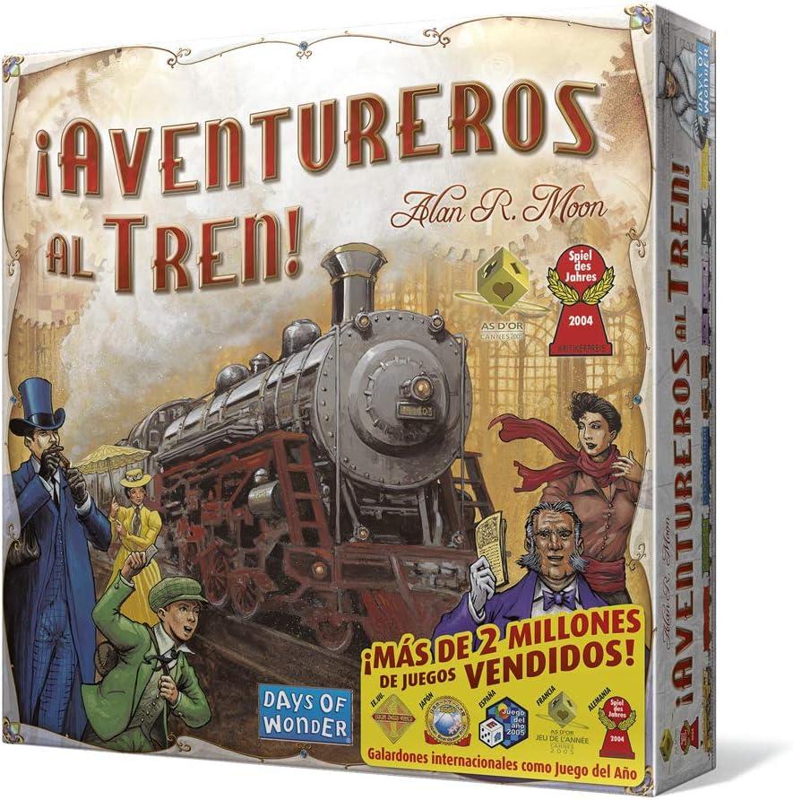 Days of Wonder- Aventureros Español-¡Sube al Tren de la Aventura ...